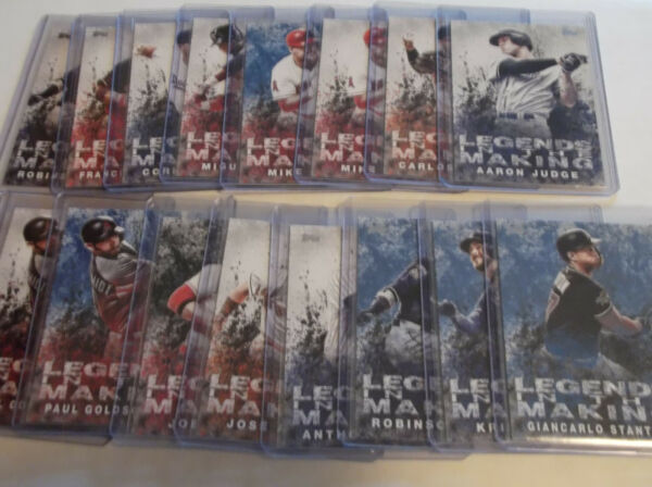 2018 Topps LEGENDS in the MAKING assorted inserts & parallels. YOU PICK. MINT