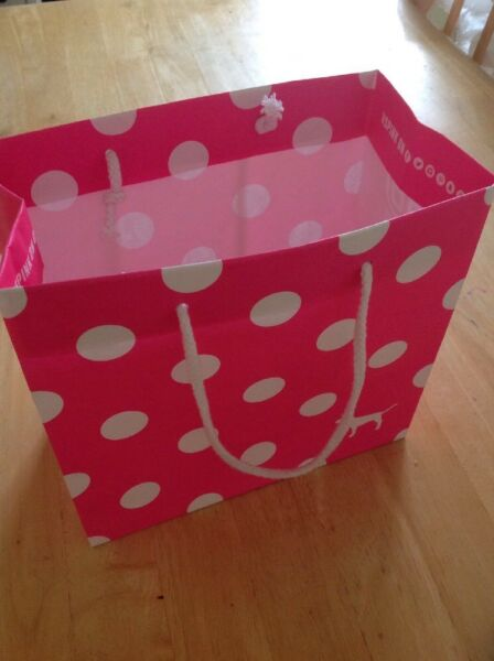Pink Brand Small Carrier Bag GBP 1.40