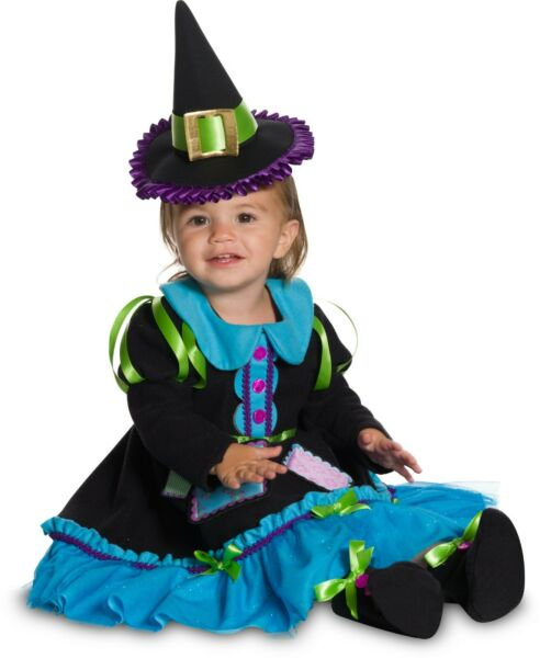 Infant Toddler Patchwork Witch Baby Costume