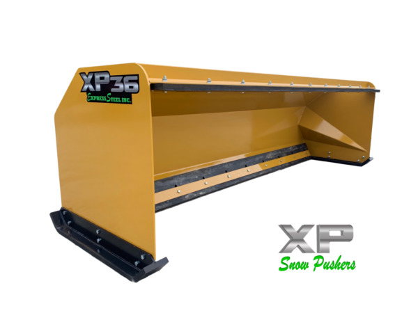 10' XP36 Pullback Snow pusher boxes backhoe loader snow plow - LOCAL PICK UP-RTR