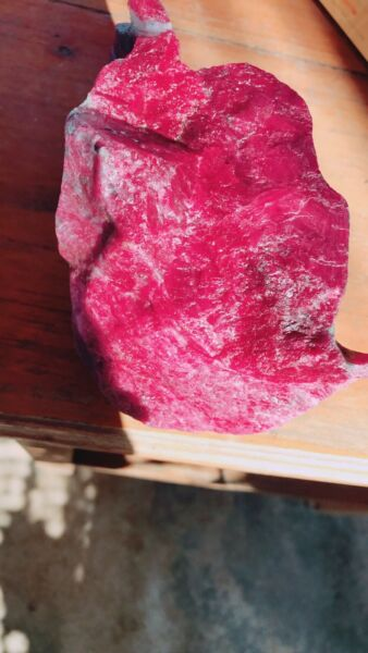 Natural Red Ruby 1.72 kg
