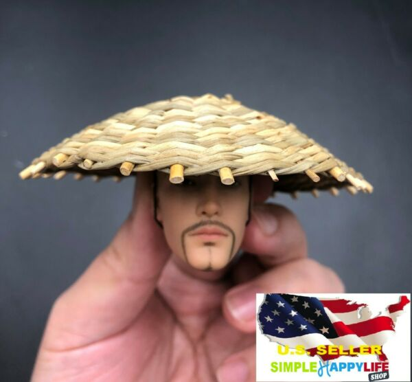 1 6 Kasa hat bamboo Japanese samurai kamishimo costumes for hot toys ❶USA❶ $17.84