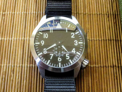 Maratac Pilot Watch - Large 46mm - sterile automatic DISCONTINUED - BRAND NEW