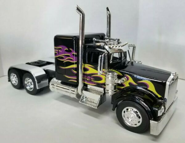 NEW RAY 1:32 BLACK KENWORTH CUSTOM TRUCK * NEW amp; LOOSE WITHOUT BOX $33.99