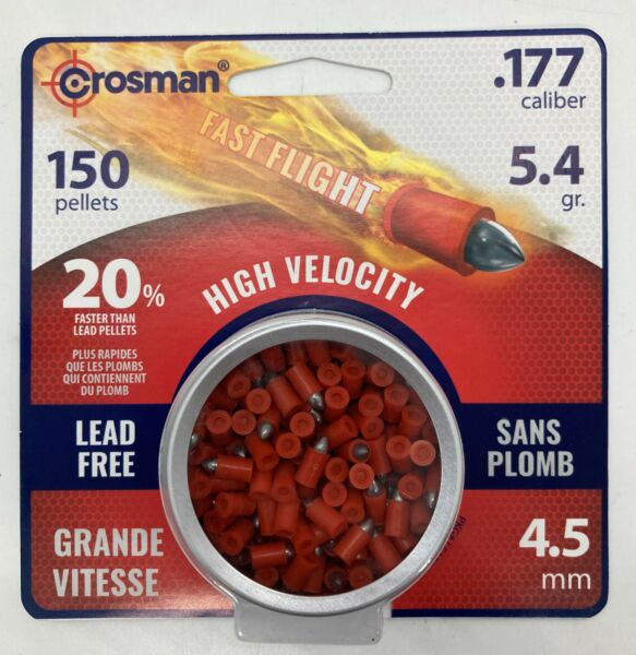 Crosman Powershot Lead Free Fast Flight Penetrators .177 cal 150 pack LF1754 $17.01