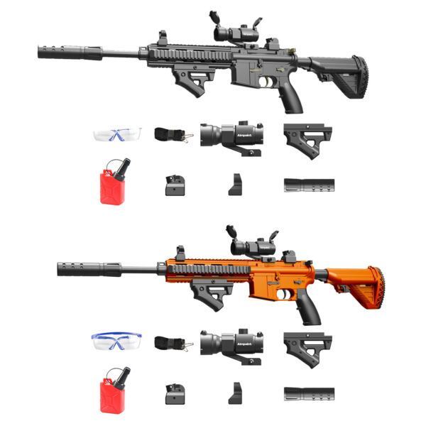 M416 Automatic & Manual Gun Weapon Toy Soft Water Bullet Guns Blaster Outdoor CS