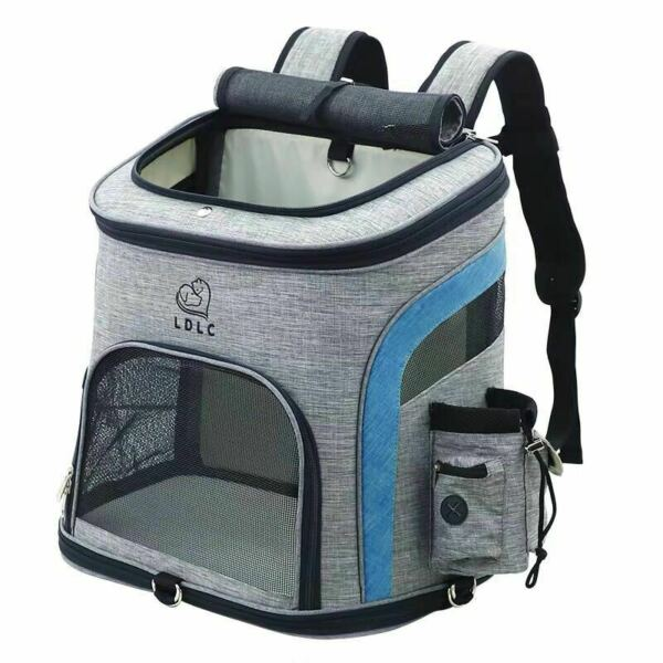 Dog Bag Breathable Backpack Cat Carrying Bag Portable Pet $40.74