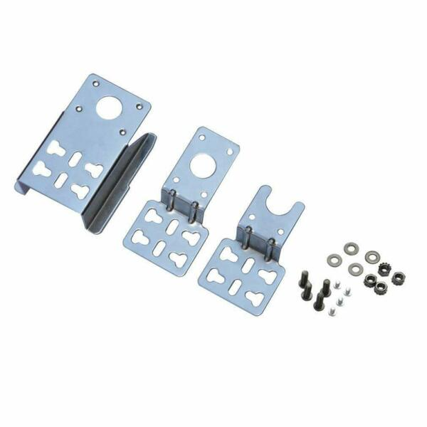 6902 Universal Barbecue Grill Stainless Steel Rotisserie Motor Bracket Set