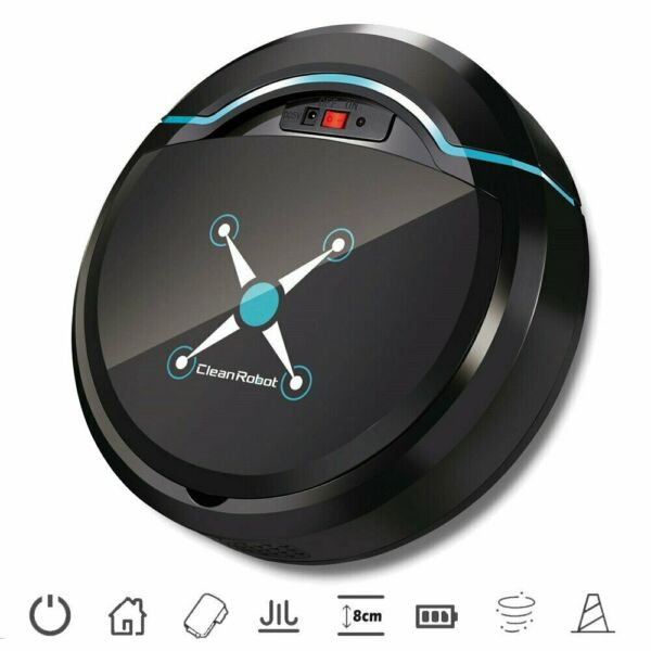 Self Navigated Rechargeable Smart Robot Vacuum Cleaner Full Auto Sweeper Sensor