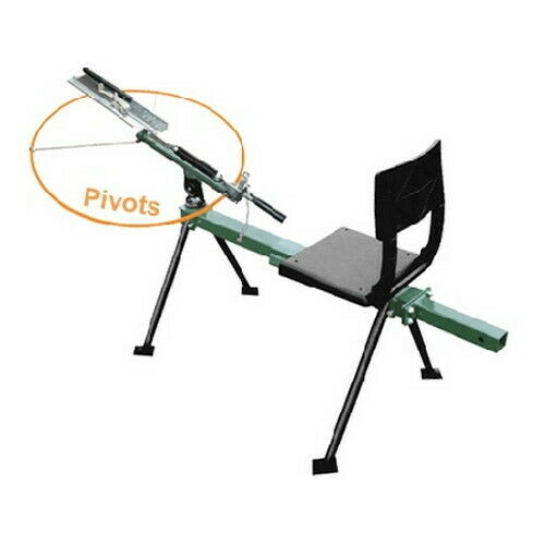 Do All Full Cock Bench Style SingleDouble Thrower Clay Target Trap ST200