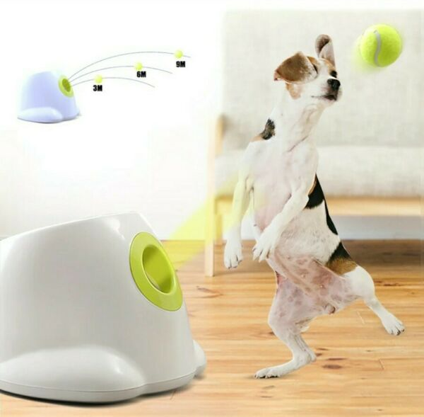 Dog Pet Toys Launcher Automatic Machine Pet Ball