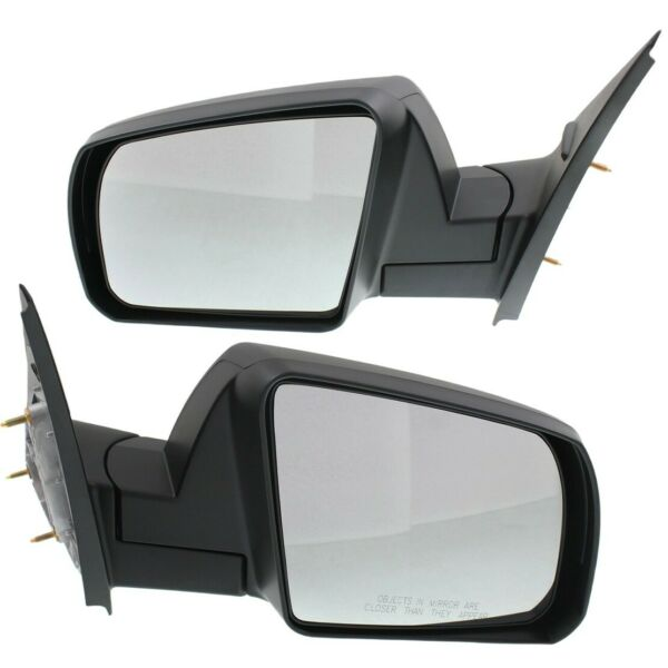 Mirrors Set of 2 Left-and-Right TO1321308 TO1320308 LH & RH for Tundra Pair