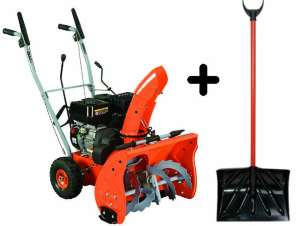 TOP 22 in. 2-Stage Gas Snow Blower + SHOVEL BUNDLE