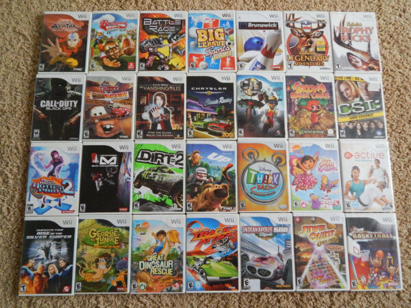 Nintendo Wii Games You Choose from Large Selection $6.95 Each $6.95