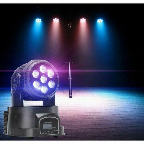 105W 4-in-1 RGBW LED Produce Colorful Beams Party Stage Lighting Lamp Light