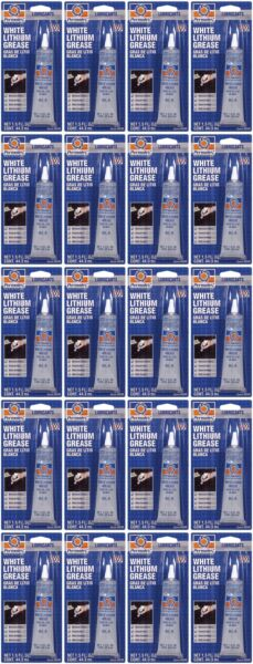 Permatex 80345 Multi Purpose Grease Synthetic Grease White Single 20 PACK