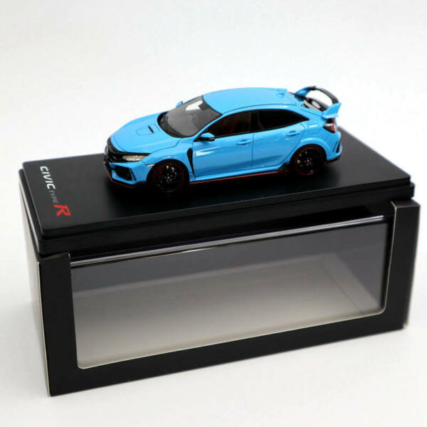 1:43 TSM Model Honda Civic Type R Blue Resin Limited Edition Collection