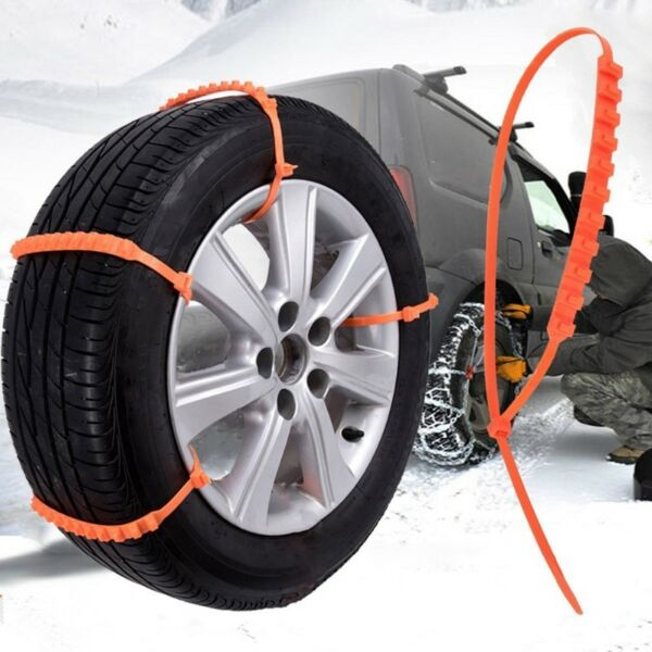 Anti Skid Chains for Automobiles Snow Mud Wheel Tyre CarTruck Tire Cable Ties