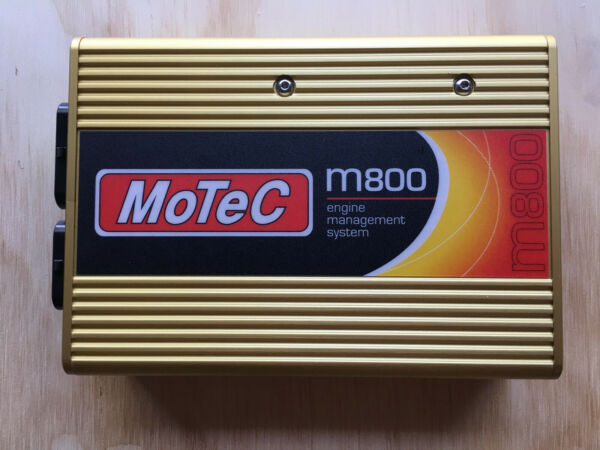 Motec M800 with 1MB Logging and Dual Wide Band enabled plus CAN cable