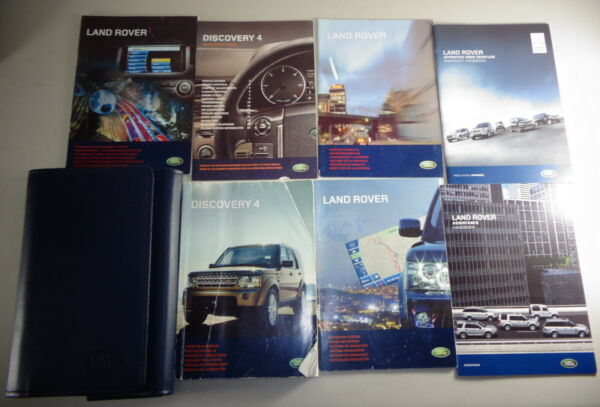 Document Kit + Manual Owner's Manual + Wallet Land Rover Discovery 4 Stand 2009