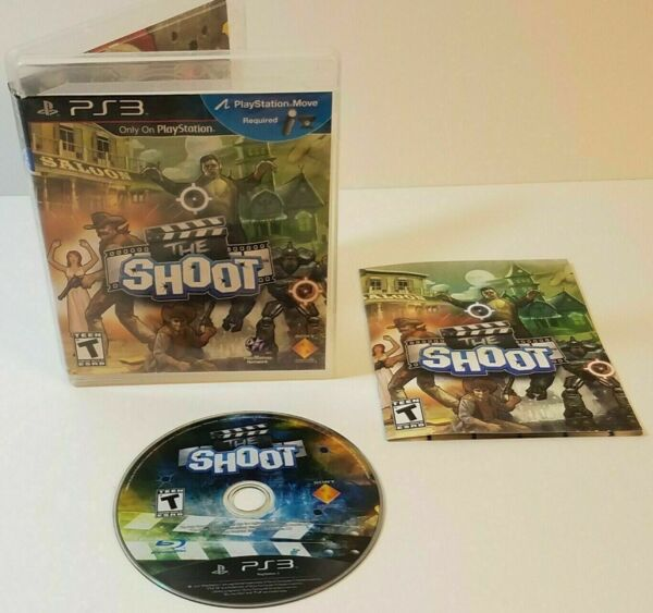The Shoot (Sony PlayStation 3) PS3 GAME COMPLETE ACTION MOVIE SETS ACTOR GAME