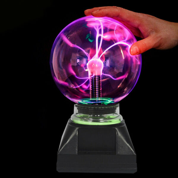 34568inch 110V Magic Crystal Globe Desktop Lightning Lamp Plasma Ball Sphere