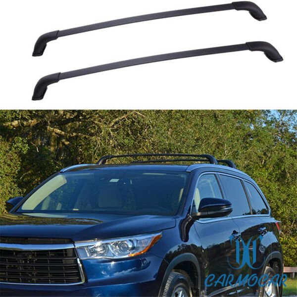Fit For 2014-2019 Toyota Highlander XLE & Limited Model Top Roof Rack Cross Bar