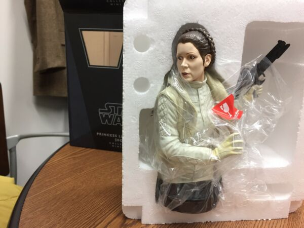 Gentle Giant PRINCESS LEIA ORGANA (HOTH) Star Wars Bust Statue number 781
