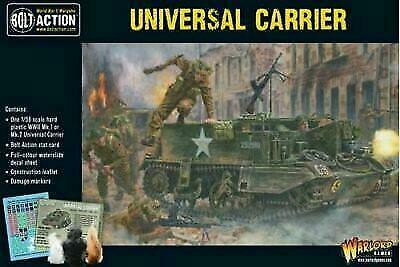 Warlord Games WLG 402011008: Bolt Action Universal Carrier $19.99
