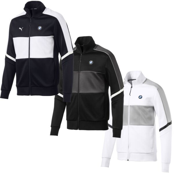 577784 Mens Puma BMW Motorsport T7 Track Jacket