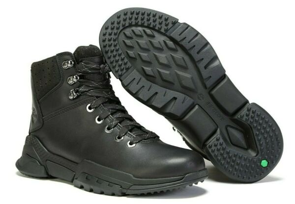 TIMBERLAND MENS LIMITED EDITION CITYFORCE BLACK WATERPROOF BOOTS SHOES A1UW5 USA $59.89