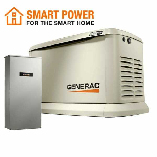 Generac-7043 Guardian Series 70432 22kW19.5kW Air Cooled Home Standby