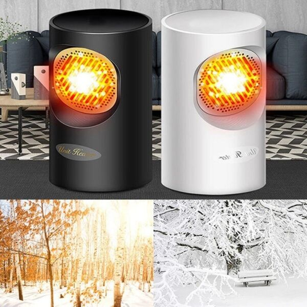 MINI Portable Fast Heater Heated Heating Electric Cooler Hot Fan Winter 400W US