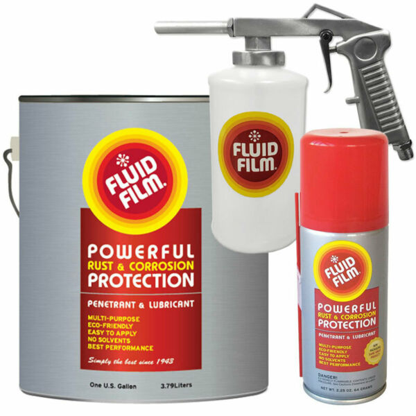 Fluid Film Rust amp; Corrosion Protection