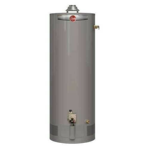 RHEEM PROG40 38N RH62 Natural Gas Residential Water Heater 40 gal. 38000 BtuH $680.00
