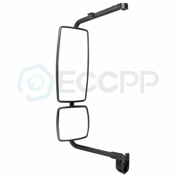 ECCPP Black Mirror Complete LH side Fits 02-18 International Durastar 4200 4300