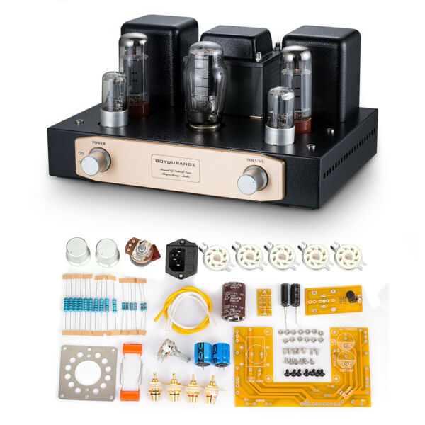 EL34 Vacuum Tube Stereo Amplifier Single-ended Class A Hi-Fi Power Amp DIY KIT