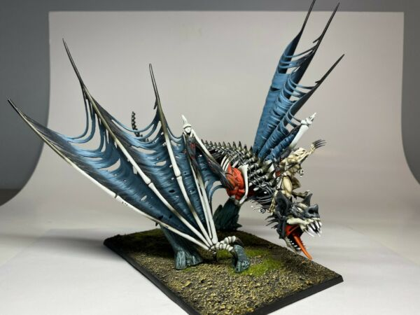 Warhammer AOS - Vampire Counts  - Pro Painted Terrorgheist  Zombie Dragon