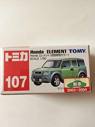 Tomica NO.107 Honda Element Initial Edition Special Color 1 60 Japan Track Num
