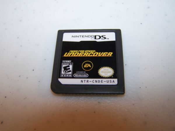 Need for Speed: Undercover Nintendo DS Lite DSi XL 3DS 2DS Game