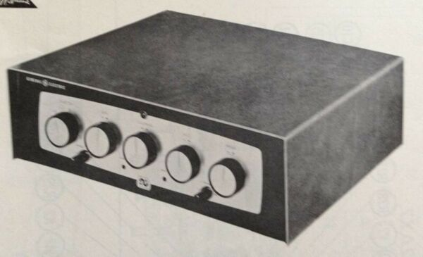 1959 GENERAL ELECTRIC PA 20 TUBE AMPLIFIER SERVICE MANUAL PHOTOFACT SCHEMATIC $10.99