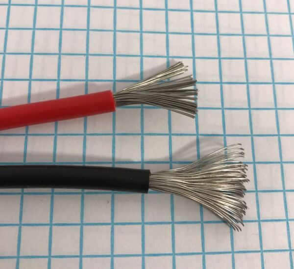 10 GAUGE WIRE RED & BLACK 25 FT EACH Tinted Copper. TEW Appliance And Equipment