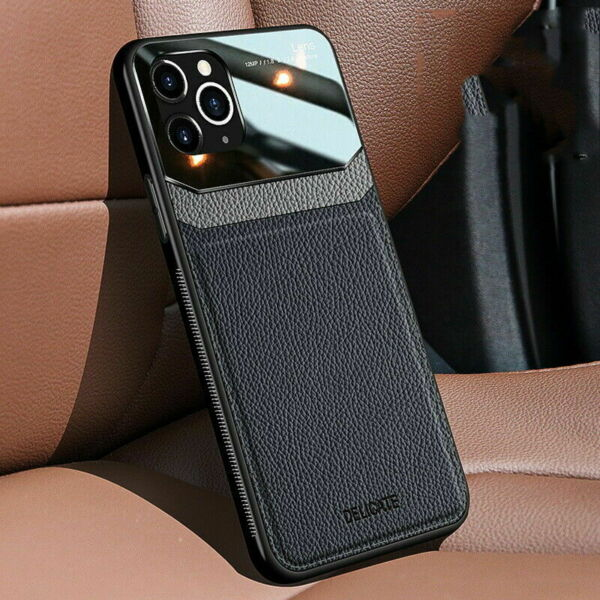 Slim Leather Hybrid Phone Case Cover For iPhone 12 Max 11 Pro XS Max XR 8 7 Plus $7.99