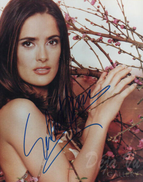 Salma Hayek Autograph - Signed Photo - Like A Boss - Frida - Desperado - COA -VF
