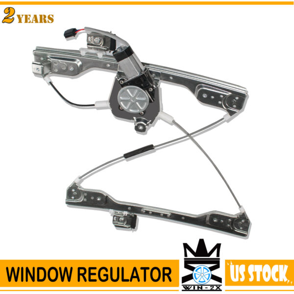 Front Right Passenger Side Window Regulator with Motor for 06-10 Dodge Charger