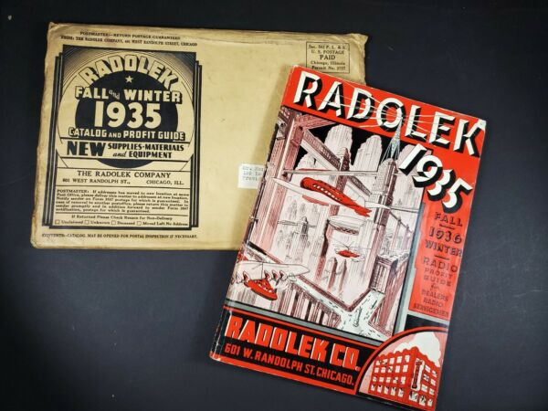 Radolek Co. 1935 1936 Catalog 162 pages Mail Envelope order form Original