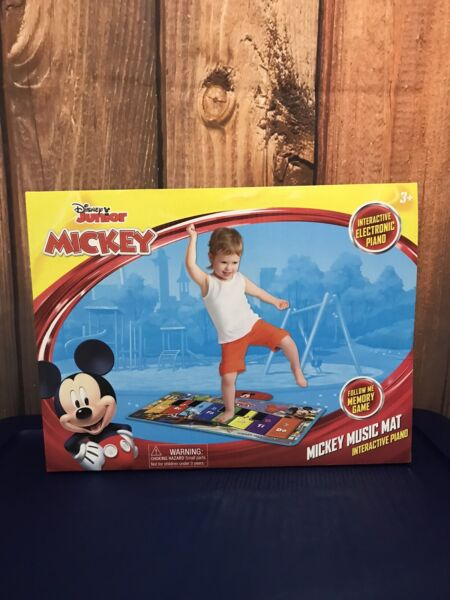 Disney Junior Mickey Mouse Music Mat Interactive Piano Toy Memory Game