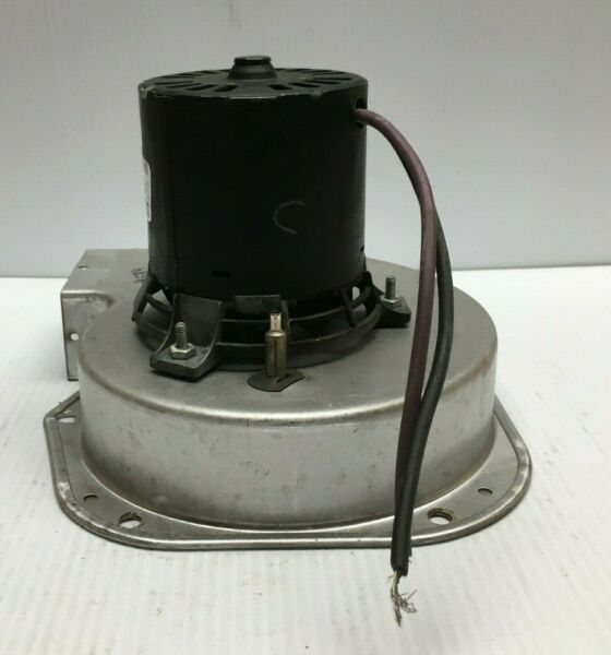 FASCO 7021-9656 Draft Inducer Blower Motor Assembly Type U21B 8981 used #M584