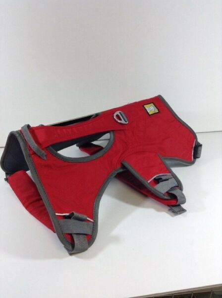 NEW Ruffwear Performance Dog Gear Red amp; Gray Size L XL 32 42 inch With Handle $60.00