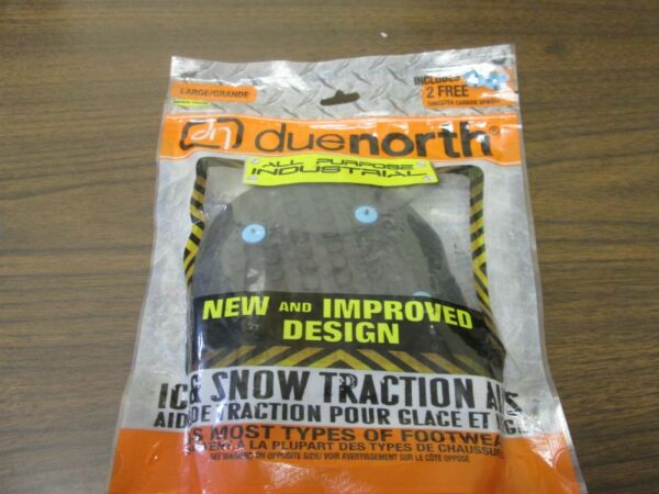 Due North Ice Traction Industrial All Purpose Snow Tract Aids Size Large